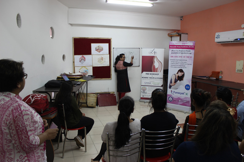 Workshop on PCOS at IIFD Chandigarh by Lipi Foundation