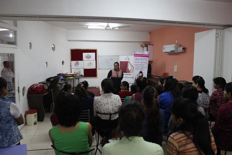 Conducted Another Successful Workshop On Women S Health And Hygiene With A Focus On Pcos At Indian Institute Of Fashion And Design Chandigarh Lipi Foundation