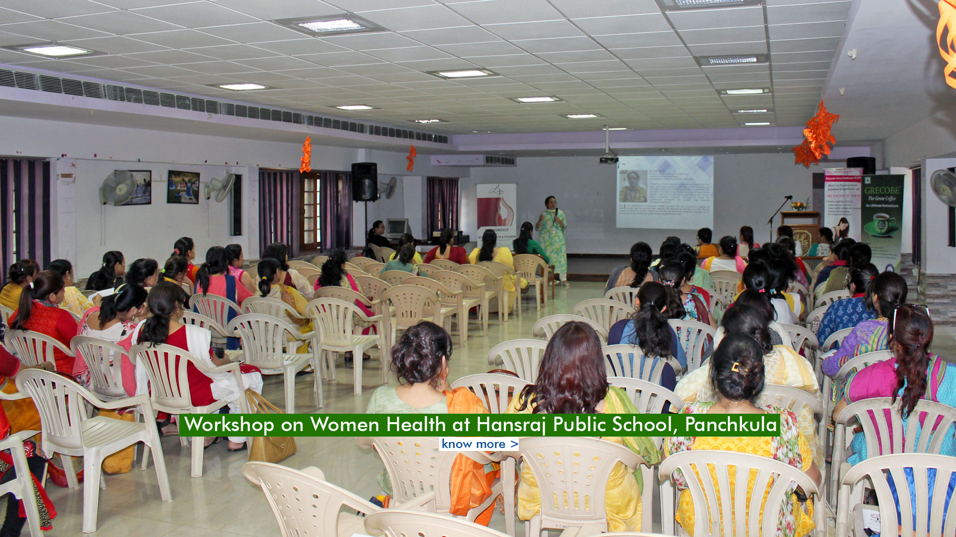 Workshop on Women Health & PCOS at Hansraj Public School, Panchkula